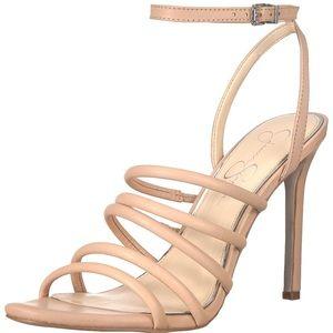Jessica Simpson Strappy Sand Dune Stiletto Sandals